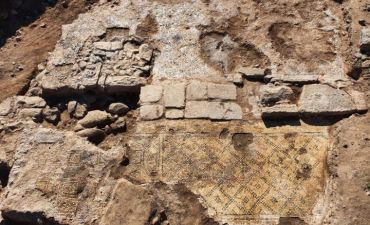 1,500-year-old inscription 'Christ, born of Mary' uncovered in Israel