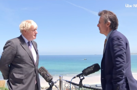 Boris Johnson quotes Psalm 14 in response to question about faith